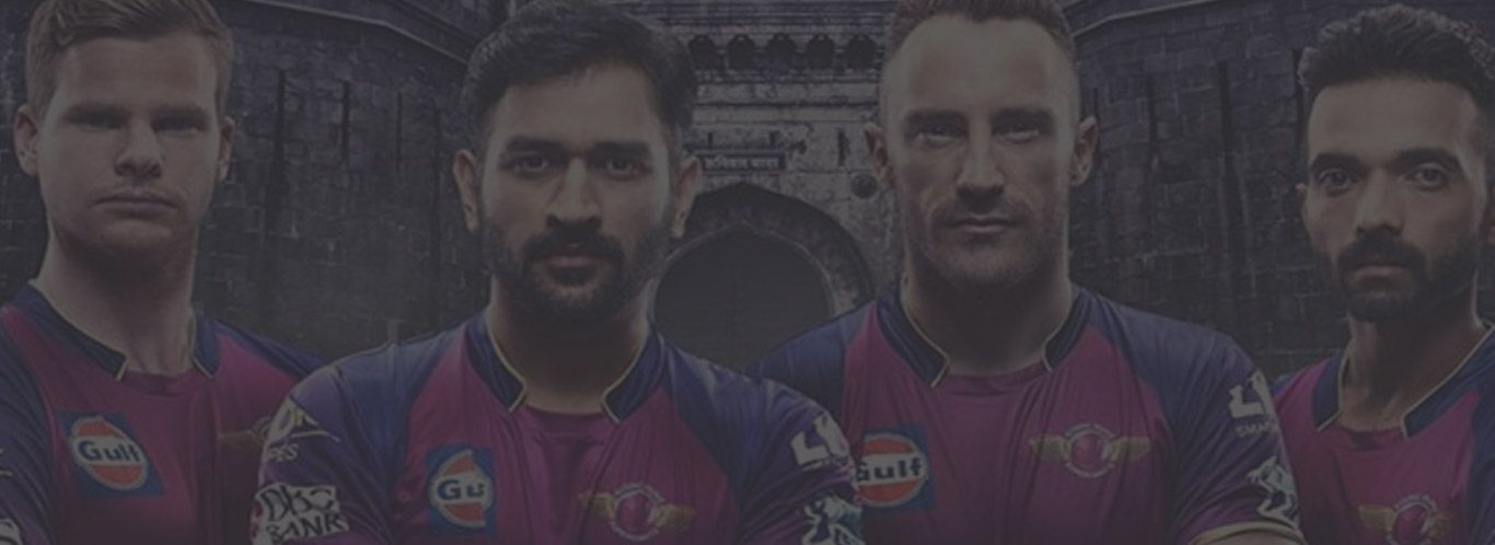 RPS was the runners-up in the 2017 IPL final