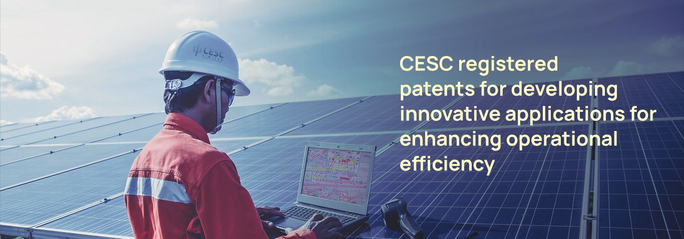 CESC registered patents for developing innovative applications for enhancing operational efficiency