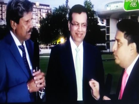 Dr Sanjiv Goenka speaks to INDIA TODAY on Indian Cricket Heroes - 29th May 2019